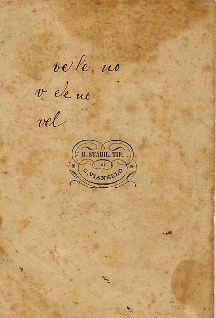 Quattro poesie - retrocopertina
