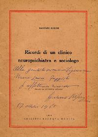 autografo del prof. Boschi a Marialuisa Faggioli