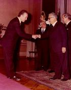 Con il Presidente Leone