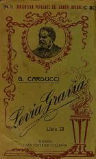 Giosuè Carducci-Levia Gravia libro III