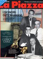 """""""La Piazza """"del febbraio  1990"""