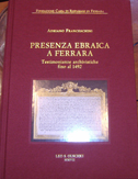 Presenza ebraica a Ferrara